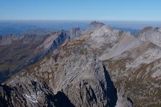 Panorama auf der Großen Wildgrubenspitze