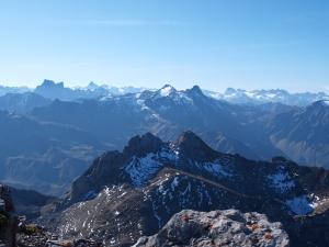 Panorama auf der Wildgrubenspitze