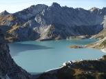 Schafgafall (2.414m) - ein einsamer Gipfel hoch über dem Lünersee