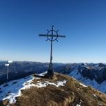 Auf dem Gipfel der Sünserspitze