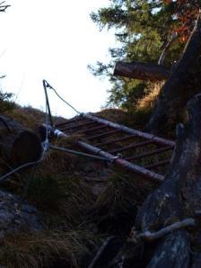 Abstieg vom Staufen