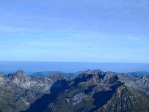 Panorama beim Aufstieg
