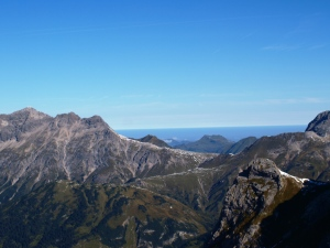Kleine Wildgrubenspitze - Panorama