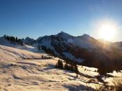 Skitour auf dem Furkajoch