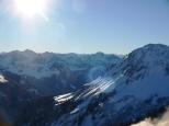 Panorama in den Bergen
