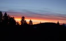 Sonnenaufgang am Pfänder