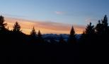 Sonnenaufgang im Bregenzerwald