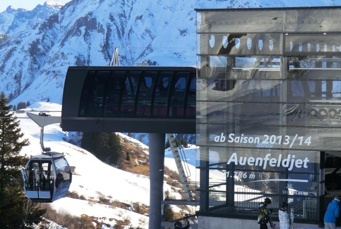 Auenfeldjet – die Verbindung der Skigebiete Lech/Zürs und Warth/Schröcken