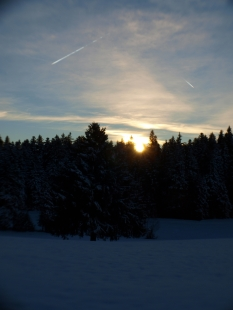 Sonnenaufgang in Sulzberg