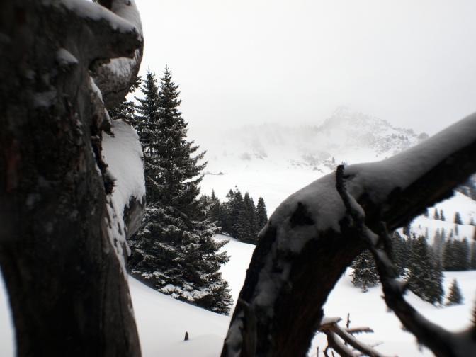 Aufstieg hui, Abfahrt pfui – Skitour auf die Hohe Matona (1.997m)
