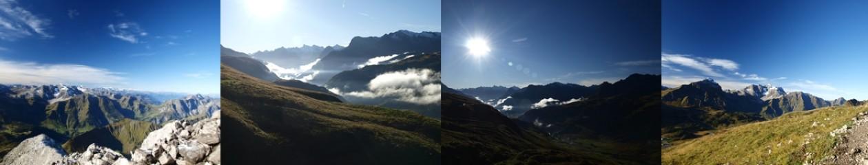 Berge in Vorarlberg – …Streifzug durch die Berge…
