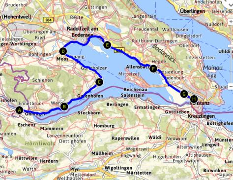 Bodensee Radwanderweg