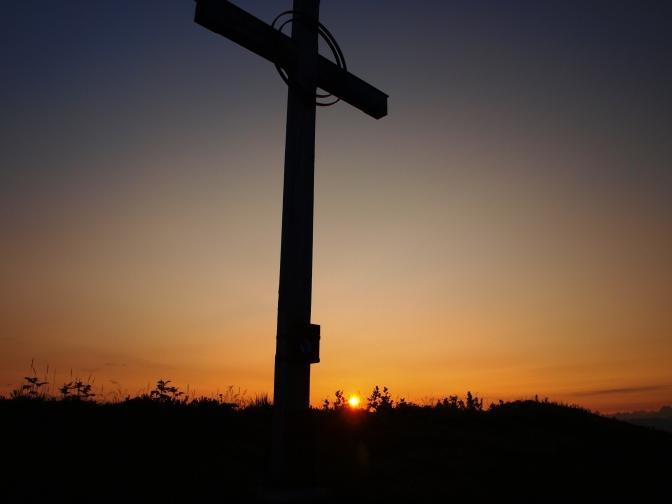 Gehrenfalben: Was hilft aller Sonnenaufgang, …