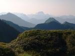 Gehrenfalben - Sonnenaufgang in den Bergen