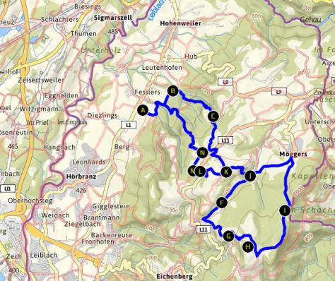 Wanderung - Pfänder / Bodensee