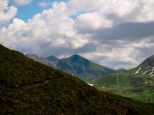Umliegende Bergwelt
