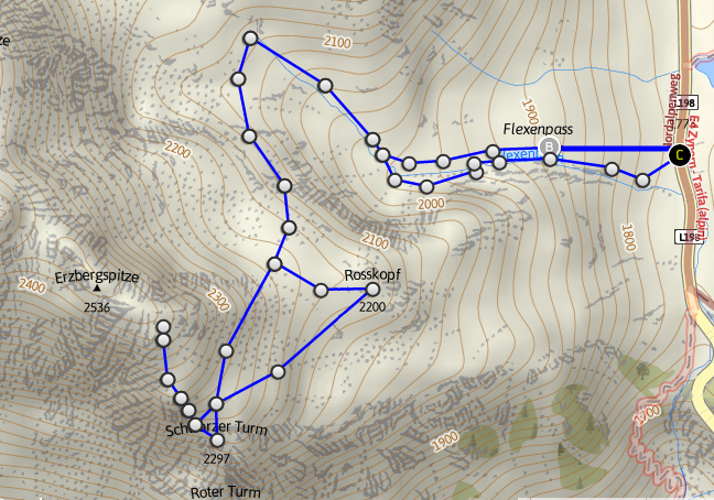 Vorarlberg Karte Berge.Erzberg Karte Berge In Vorarlberg Streifzug Durch Die Berge