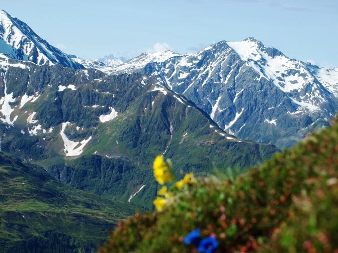 Erzbergkopf (2.421m) – Blick auf Stuben