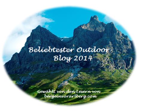 Outdoor Blog Award 2014