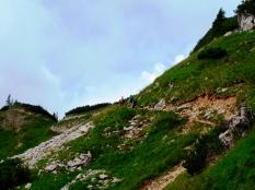 Bergweg zum Hallgehrenjoch