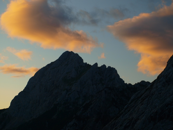 Tannheimer Berge – 5 Jungs, 4 Hütten, 3 Touren und …