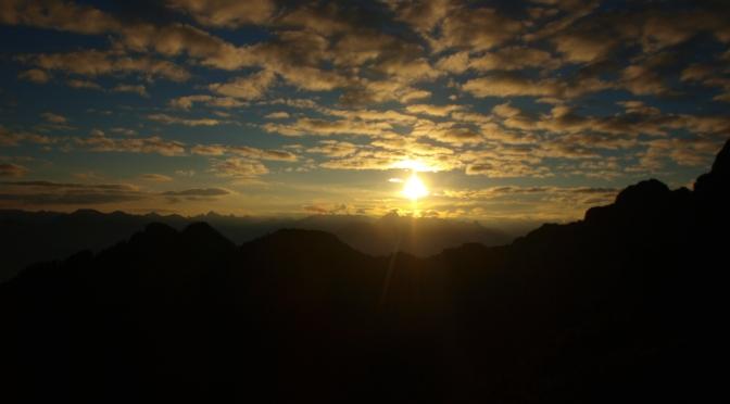 Mondscheinwanderung auf den Goppaschrofen (1.781m)