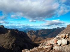 Blick zum Arlberg