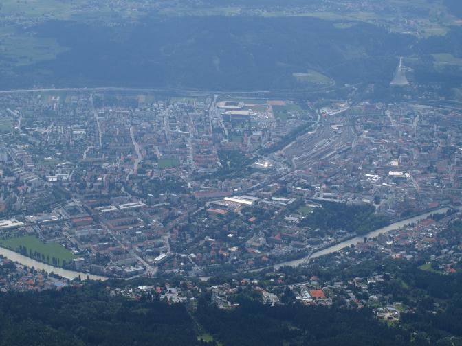 Innsbruck eine Stadt auch für Alpinisten …