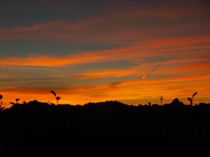 Morgenerwachen auf dem Riedberghorn (1.787m)