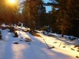 Zwischen Winter und Herbst - Hochlitten
