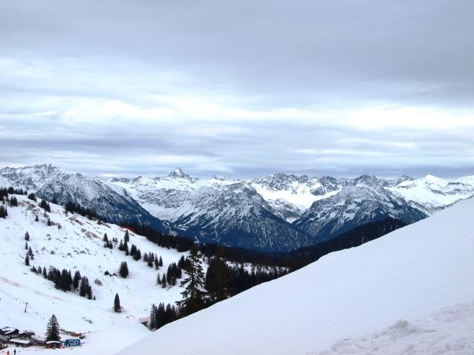 Die erste Skitour 2015 – leichter Einstieg mit dem Riedberghorn