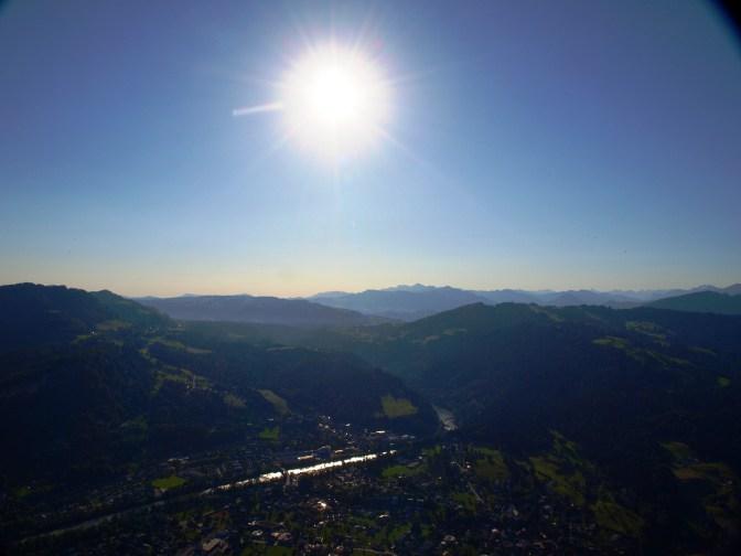 Die Berge aus einer anderen Perspektive – Ballonfahrt über die Alpen
