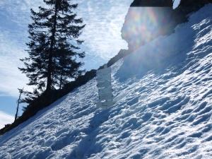 Besler - eisige Schneefelder