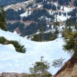 Besler-Runde - Schneefelder