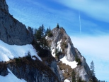 Fels, Eis und Schnee