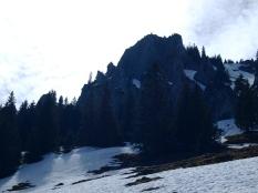 Eisige Schneefelder