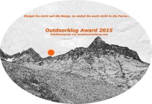Outdoorblog Award 2015 - Publikumspreis