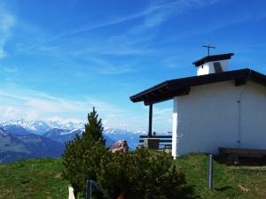 Kapelle auf dem Sattel