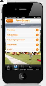 Sportscheck Outdoor App