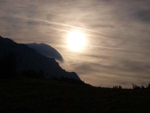 Morgenerwachen am Arlberg