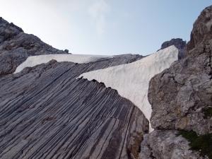 Herrliche Kletterei auf das Grubenjoch