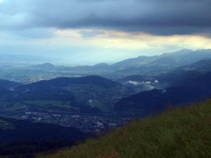 Blick in den Walgau