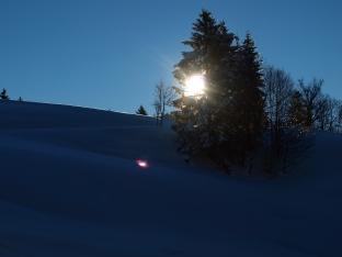 Skitour auf den Falken
